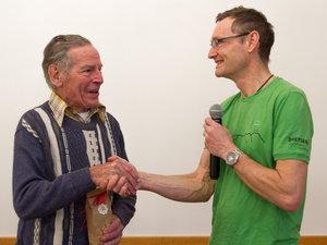 65 Jahre Mitgliedschaft, Max Baltisberger