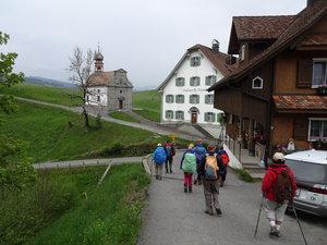 Die wunderbare Etzel - Kappelle bei St. Meinrad